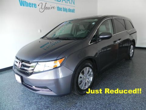 Certified Used Honda Odyssey EX-L w/RES